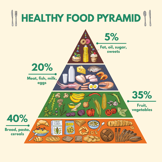 Here's Why You Should Use The Food Pyramid With Your Diet