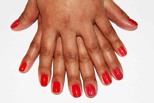 Here's What You Didn't Know About The History Of Red Nails